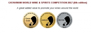 CATAVINUM WORLD WINE & SPIRITS COMPETITION 2017 (6th edition)